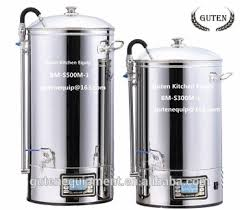 mini home brewing equipment beer mash tun 50l mash tun beer brew for