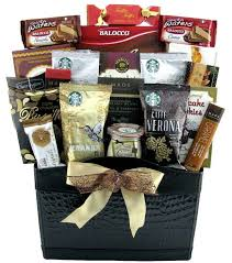 starbucks coffee extravaganza coffee or tea gift baskets canada sendluv