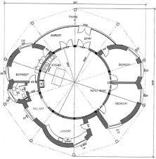 maisons plan de maison ronde 4