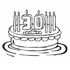 Small Picture Coloring For Cake And Birthday CandlesForPrintable Coloring