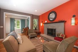 decoration what color curtains go with burnt orange walls