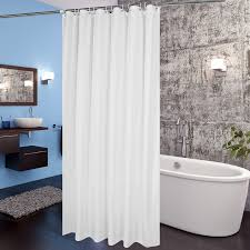 fabric shower curtain aoohome extra long 72x78 inch waterproof shower curtain liner for hotel with hooks weighted hem