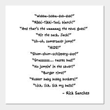 Rick Sanchez Quotes
