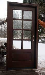 home exterior doors with glass