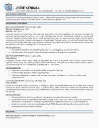 Police Ficer Resume Resume Cv Cover Letter Police Officer Resume