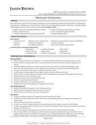 Food Service Manager Resume Sample Modern Restaurant Service Manager Resume Sample Food Service Manager 1