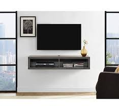 60 inch tv stand with soundbar shelf inspirational martin home furnishings shallow 48 wall mounted