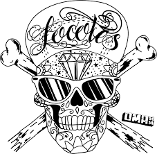Small Picture Skull coloring pages for girls ColoringStar