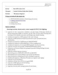 Mechanical Engineer Resume Sample Doc 2 Engineer Resume Format For