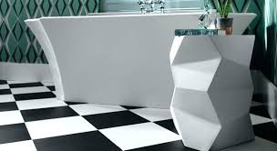 awesome rubber flooring for bathrooms black and white vinyl floor tiles in a modern bathroom interlocking