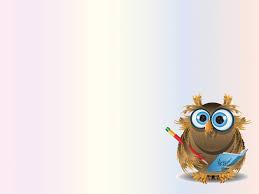 Teacher Powerpoint Sweet Owl Teacher Backgrounds Animals Educational Templates