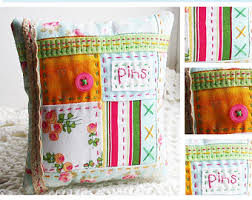Quilted pincushion | Etsy & Patchwork Pincushion Pattern, Embroidered Pincushion Pattern, Quilted  Pincushion Pattern Adamdwight.com
