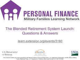 Navy Reserve Retirement Points Chart The Blended Retirement System Launch Questions Answers