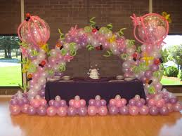 balloon decoration ideas for 1st birthday party image