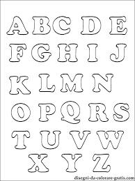 Più Ricercato Alfabeto Da Colorare E Stampare Disegni Da Colorare