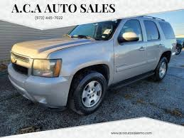 Chevrolet Tahoe For Sale In Columbia Mo A C A Auto Sales