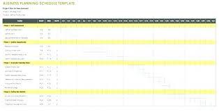 Financial Planning Calendar Template