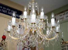 marie therese twelve arm chandelier