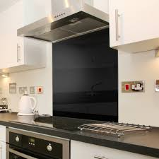 Kitchen Tiles And Splashbacks Episode Ceramica Episode Black Glass Splashback 60x75cm Episode
