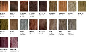 350 Hair Color Chart Sensationnel Color Charts