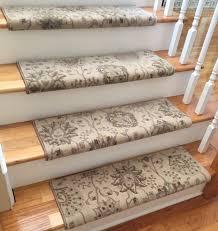 satin cream custom wool true bullnose carpet stair tread new intended for designs 4