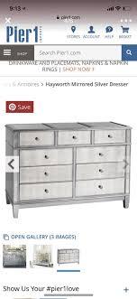 pier 1 hayworth mirrored dresser for