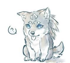 cute baby wolf anime. Simple Anime Anime In Cute Baby Wolf B