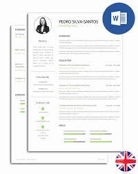Resume Format Editable Elegant Pack With Ebook Pdf Format Cv And