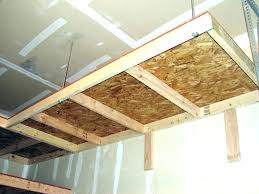 wooden garage shelves suspended garage shelves garage ceiling shelving hanging garage suspended garage shelves garage ceiling