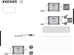 kicker l7 wiring just another wiring diagram blog • kicker amp wiring diagram simple wiring diagram rh 6 6 terranut store kicker l7 wiring kicker l7 12 wiring