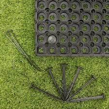 rubber grass mats 150x100x2 3cms c w