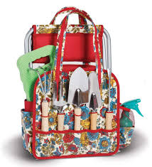 fl garden tote and tools set