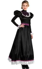 Victorian fashion consists of the various fashions and trends in british culture that emerged and developed in the united kingdom and the british empire throughout the victorian era, roughly from the 1830s through the 1890s. Womens Victorian Dress Party City