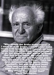Why Should The Arabs Make Peace David BenGurion [40x40 Interesting Famous Quotes About Peace