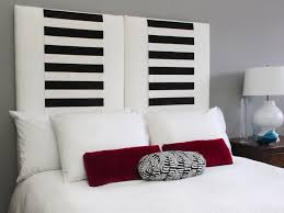 Narrow Vertical Panel Fabric Headboard