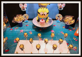 Minion Birthday Party Life Songs Of A Busy Mom Despicable Me Minion Birthday Party