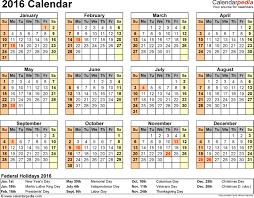 Week At A Glance Calendar Template Year At A Glance Calendar Simple Design Beauty Calendar