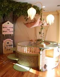 forest theme bedrooms - woodland forest theme bedroom fairies decor - fairy  room decor - woodland