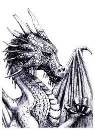 dragon pics to color. Interesting Pics Free Coloring Page Coloringadultdragon An Impressive Dragon To Print U0026  Color Intended Pics To Color O