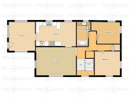 by manda  The house part   Interior floor planAnd here is the basement   which I couldn    t get as close to actual scale as the first floor  The stairs are a bit wonky on both floors but it gives you a
