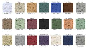 Epoxy Garage Floor Color Chart Amazing Epoxy Floor Color Flake Choice By Witcraft Painting