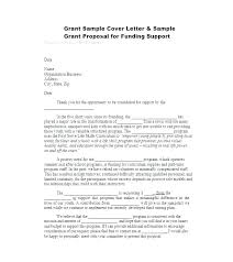 Sample Grant Letter Letter Sample Letter Of Intent For Non Profit