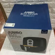 Nồi chiên không dầu Lock&lock Jumbo EJF151BLK 5.2L đen, chính hãng bảo hành  12 tháng - 2,450,000