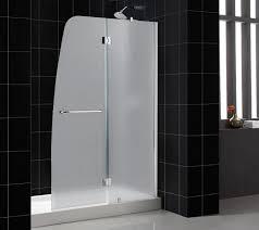 contemporary sliding shower doors. frosted glass shower door frameless for modern bathroom design contemporary sliding doors