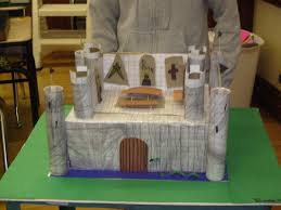 Castle Designs For School Projects Castles Ms Days 4th Grade
