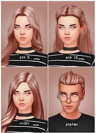 Pin by ☼ ↷ ↷₊̣̇.Bi-bi-Zyaka ♡:☼ ☼ ↷ ↷ on The Sims4 | Sims hair, Sims 4,  Sims 4 cc