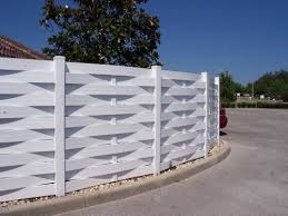 white horizontal wood fence. \u0027Basket Weave\u0027 White Horizontal Vinyl Fencing Wood Fence A