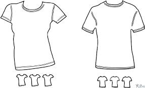 Overhemd T Shirt Kleurplaten Kidre