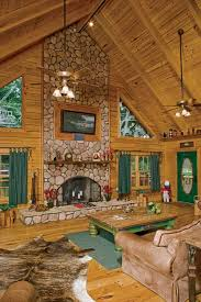 great room with fireplace hearth suwannee river log homes