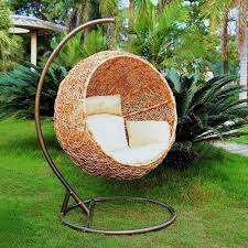 outdoor hanging furniture. Unbelievably Relaxing Piece Of Furniture Hanging Chair : Cool Stunning Outdoor  Circle Shaped Made Outdoor Hanging Furniture R